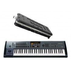 Korg Kronos 61 Synthesizer Workstation with ABS Hard Case 