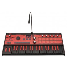 Korg microKORG Synthesizer/Vocoder 10th Anniversary Edition, Red/Black Keys 