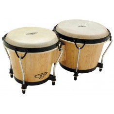 Latin Percussion CP221-AW Traditional Bongos, Natural Wood