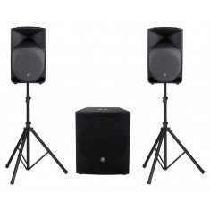 Mackie Thump TH-15A & SRM1801 Active PA System