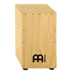 Meinl HCAJ3NT Cajon in Natural Rubber Wood in Bigger Size