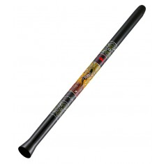 Meinl SDDG1-BK 51 Inch Synthetic Didgeridoo Including Bag in Black
