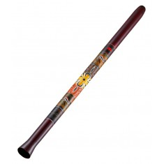 Meinl SDDG1-R 51 Inch Synthetic Didgeridoo Including Bag in Red