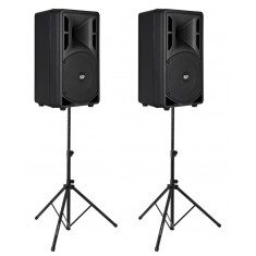RCF ART 310-A MK3 Active PA Speaker Bundle