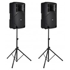 RCF ART 312-A MK3 Active PA Speaker Bundle