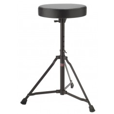 Stagg DT-22BK Single Braced Drum Throne, Black