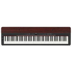 Yamaha P-155 Digital Piano (Black with Mahogany top board)